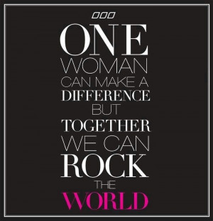 Together We Can Rock The World ♡