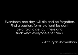 Quotes Zyzz ~ The Best Zyzz Quotes: Get Inspired Brah!