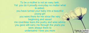To be a mother is not an easy task,Yet you do it proudly everyday no ...