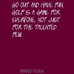 Harvey Penick's quote #2