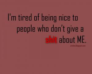 Being nice quotes, nice quotes, nice quotes about life
