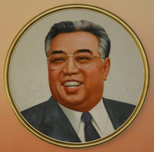 Dictator Kim il-Sung, Eternal President of North Korea and progenitor ...