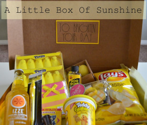 Little Box of Sunshine to Brighten Your Day! Perfect for someone in ...