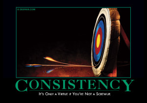 It's only a virtue if you're not a screwup.