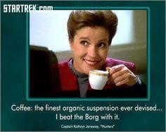 Star Trek Voyager Captain Janeway quote: