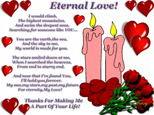 famous quotes about eternal love quotesgram
