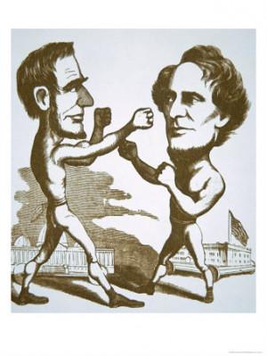 ABRAHAM LINCOLN AND JEFFERSON DAVIS