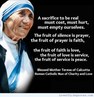 Mother Teresa Quotes Mother teresa of calcutta