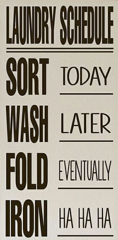 etsy laundry sign laundry schedule laundry room sign wood sign laundry ...