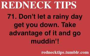 redneck # redneck tips # redneck tip # tip # tips # rain # rainy day ...