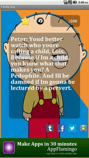 Family Guy Funny Quotes About...