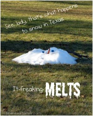 ... freaking melts!