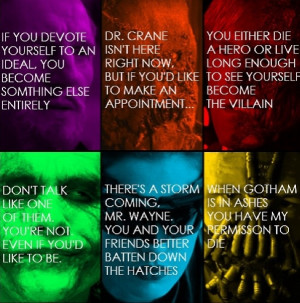 Villain Quotes from the trilogy