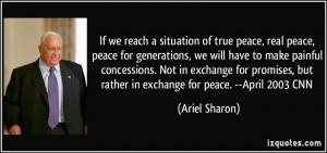 More Ariel Sharon Quotes