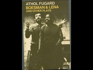 Athol Fugard amp Ruby Dee Boesman amp Lena Signed Autograph Book