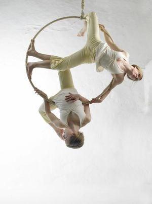 aerial hoop duo