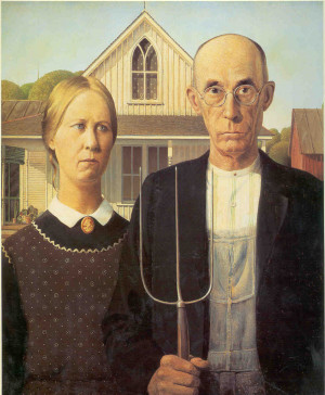 Grantwoods American Gothic