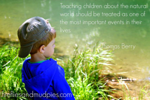 Inspirational Quote from Fireflies and Mudpies