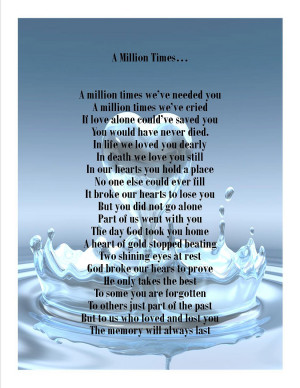 Bereavement Support Poems