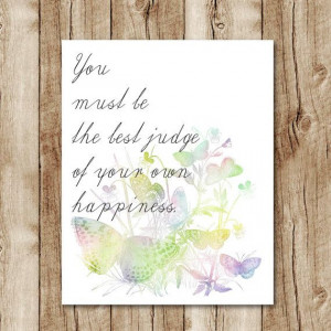 Life quote prints. Jane Austen quote printable, quote wall art, quote ...