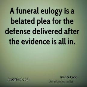 Funny Eulogy Quotes About Life