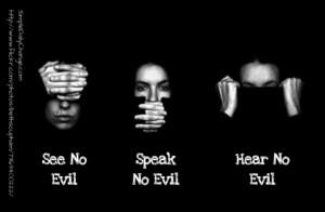 evil quotes hear no evil see no evil