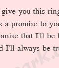 promise ring poem
