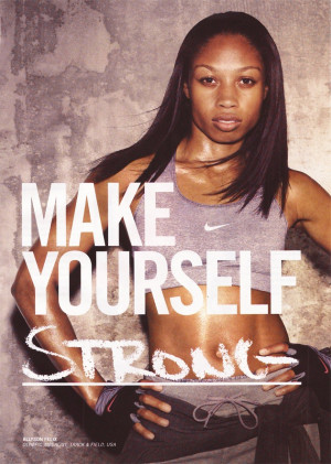Allyson FelixNike Ad, Strong, Strength, Allyson Felix, Fit Inspiration ...
