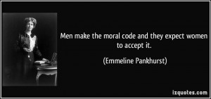 More Emmeline Pankhurst Quotes