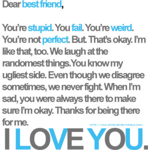 Love My Best Friend Quotes