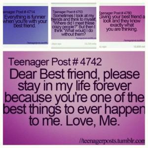 ... Monster912 best friend teenage post | Quotes Teenage Post Teenager lol
