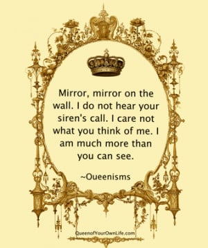 The Mirror Does Not See   Queenisms