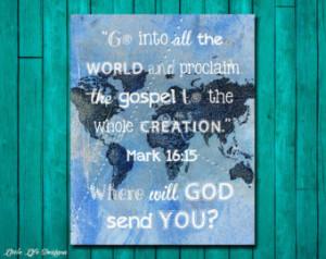 ... Bible Verse. Christian Wall Art. Christian Home Decor. Bible Quote