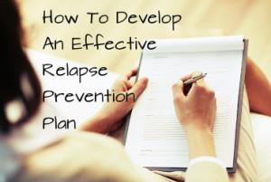 Alcohol Relapse Prevention Plan
