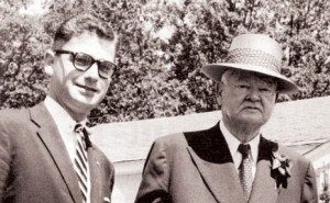Mark Hatfield and Herbert Hoover