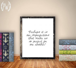 00 Printable Quotes, Jane Austen Quote print, wall art decor poster ...