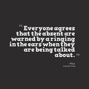 Quotes About Being Talked