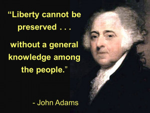 ... university of John Adams Quotes untainted George Washington Quotes