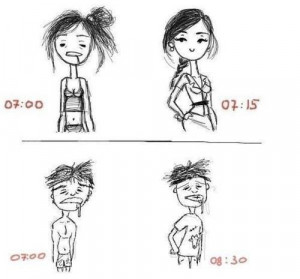 beauty, boy, funny, girl, morning, photo, true