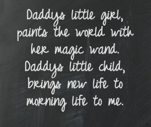 Daddy's little #girl #quote
