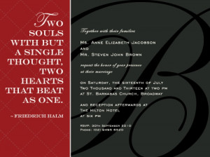 Wedding Love Quotes: Wedding Love Quotes For Invitation Cards