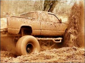 Wanna go mud din? #mudding #truck #mud #dirt #fun