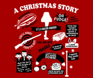 Christmas Story Quotes T-Shirt