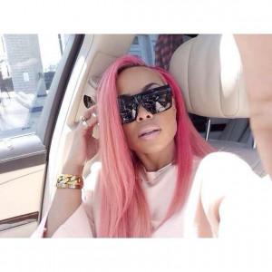 Pink Hair Heather Sanders