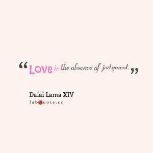 Dalai lama iv love quote