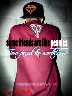 boy, diamond, friends, quotes, swag, swagg, swagg quotes, two-faced ...
