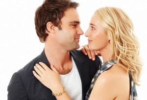 Matthew le Nevez and Asher Keddie star in Offspring