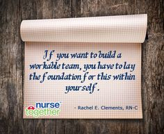 to all nurses since we are often expected to take on a leadership ...