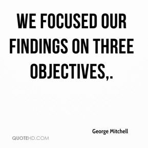 Objectives Quotes