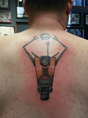 Awesome Back Tattoos For Guys